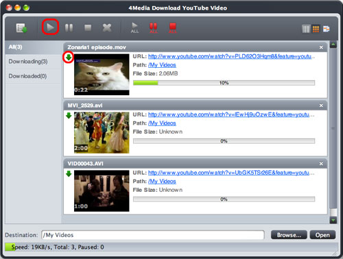 Free YouTube video downloader for Mac. Part 2: Download YouTube Videos with