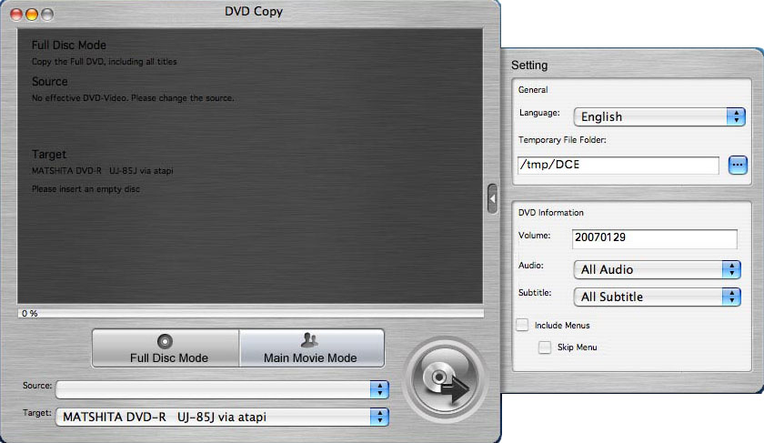 4Media DVD Copy for Mac 1.5.38.0312