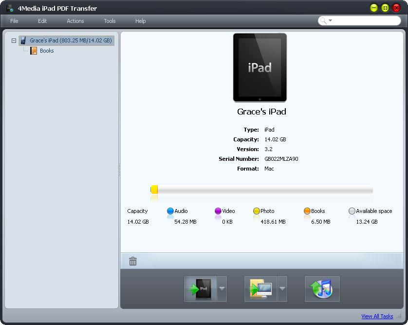 Windows 7 4Media iPad PDF Transfer 3.0.4.1118 full