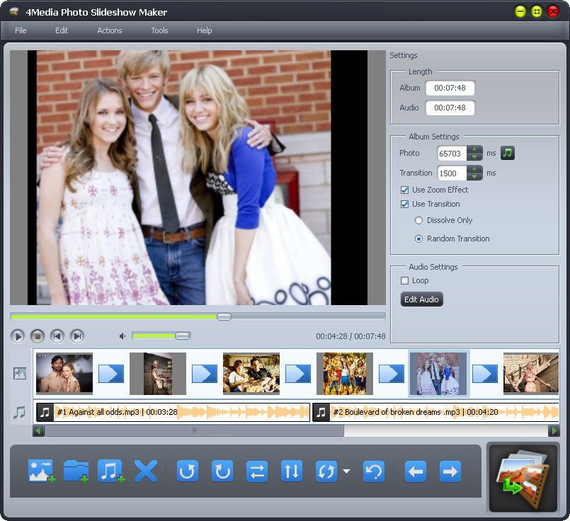 photo to slideshow, Photo Slideshow Maker,  photo to video