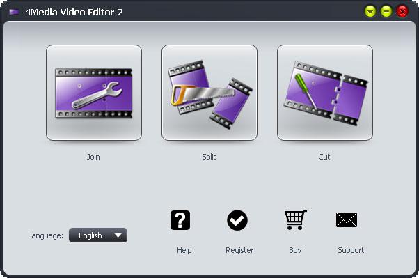 Click to view 4Media Video Editor 2.0.1.0111 screenshot