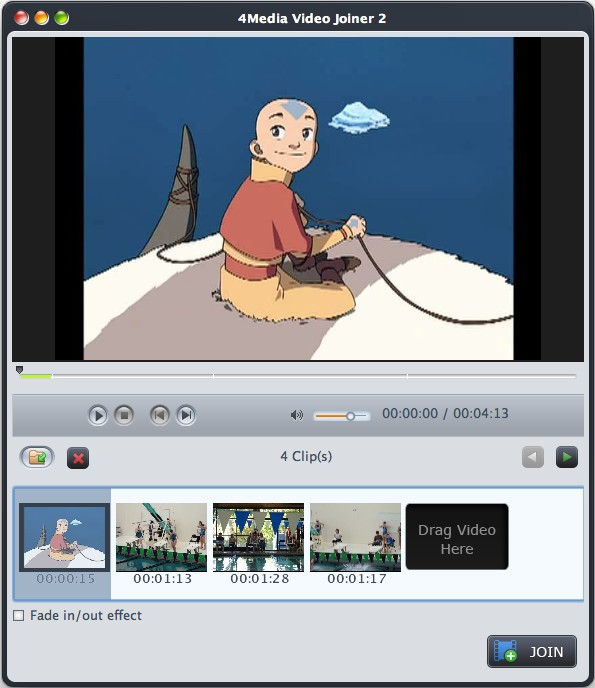 Video Joiner for mac, join videos on mac, avi video joiner mac