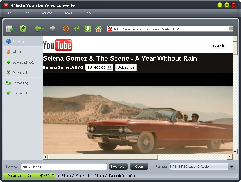 Download and convert YouTube video