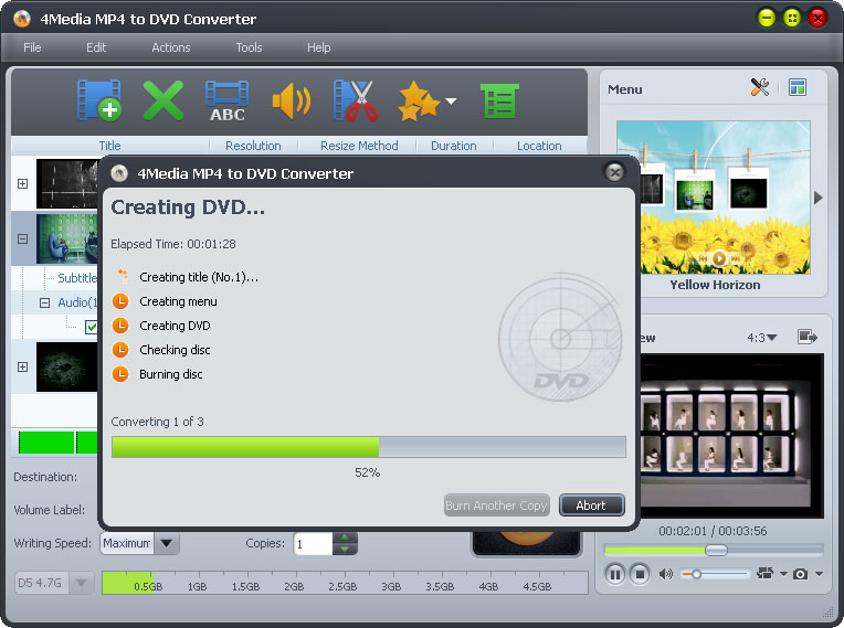 mp4 to dvd, burn mp4 to dvd, mp4 to dvd converter, convert mp4 to dvd